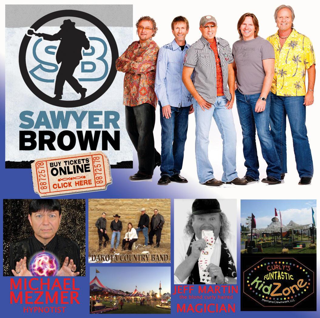 Montana rosebud county forsyth - Sawyer Brown Headlines The 2017 Rosebud Treasure County Fair